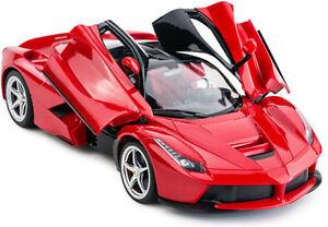 Ferrari La Radio rc Model Car R/C 1/14 Scale RTR Open Doors yellow red new gift