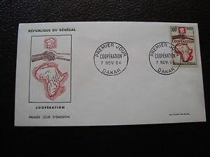 Senegal-Sobre-1er-Dia-7-11-1964-B6
