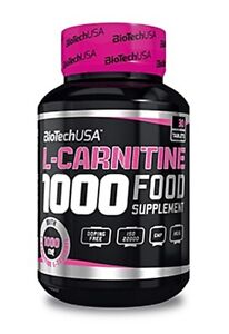 L-Carnitine 1000mg tablets Strong Fat Burner Weight Loss