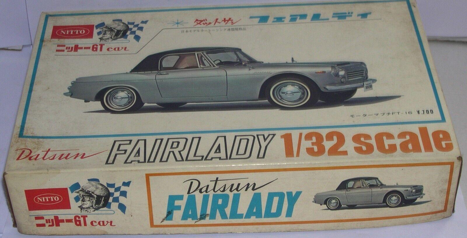 FN NITTO modellolo RACER auto N GAUGE costruzione KIT DATSUN FARLAADY 1 32