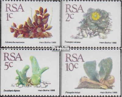 In Fine Used / Cancelled 1988 Sukkulenten Fashionable complete.issue. Latest Collection Of South Africa 758-761 Style;