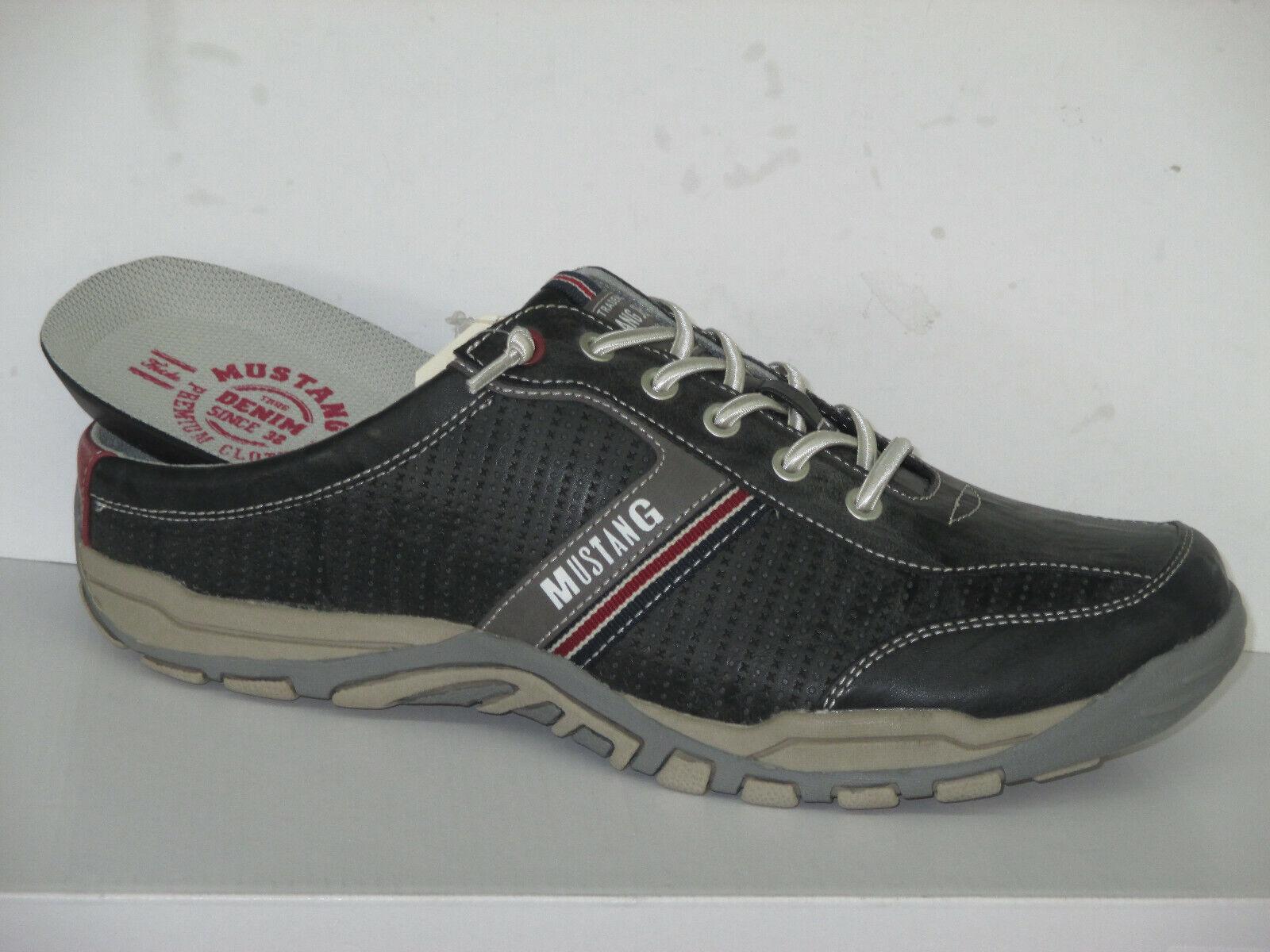 Mustang  Schuhe Herren Sabot 4027-705-200, auch  in ÜBERGRÖßE, Gr.41-50