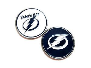 0d3f5812614 NHL Tampa Bay Lightning Golf Ball Marker Enamel Metal Team Logo 2 ...