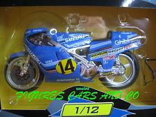 MOTO GP   1/12  SUZUKI 500 RGB FRANCO UNCINI 1982