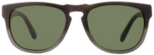 Electric Rectangular Sunglasses Leadbelly EE13355101 Matte Gray//Tortoise 55mm