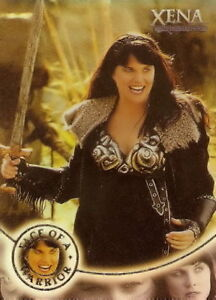 Xena-Season-4-and-5-W7-Face-of-a-Warrior-insert-card-Lucy-Lawless
