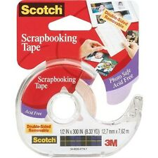 3M Scotch Scrapbooking Tape Double-Sided Removable - 249634
