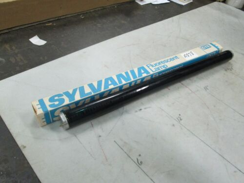 NIB Sylvania Black Light Blue Fluorescent Lamp F15T8//BLB Bi-Pin Base