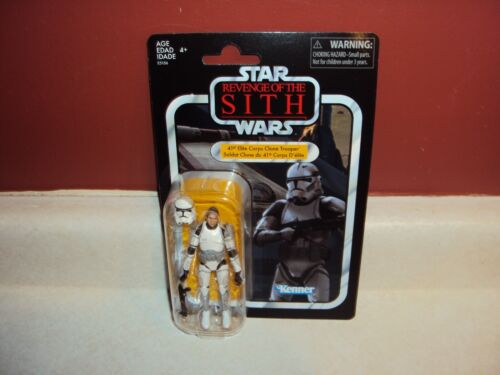 STAR WARS 41ST ELITE CORPS CLONE TROOPER VINTAGE COLLECTION VC145 MOC EXCLUSIVE