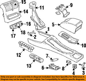Image Is Loading Cadillac GM OEM 97 99 Catera Front Center