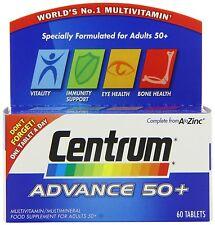 CENTRUM ADVANCE 50+ A-Z MULTIVITAMINS  - 60 TABLETS