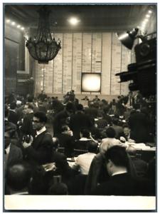 Paris-Elections-legislatives-1958-ministere-de-l-039-Interieur-Vintage-silve