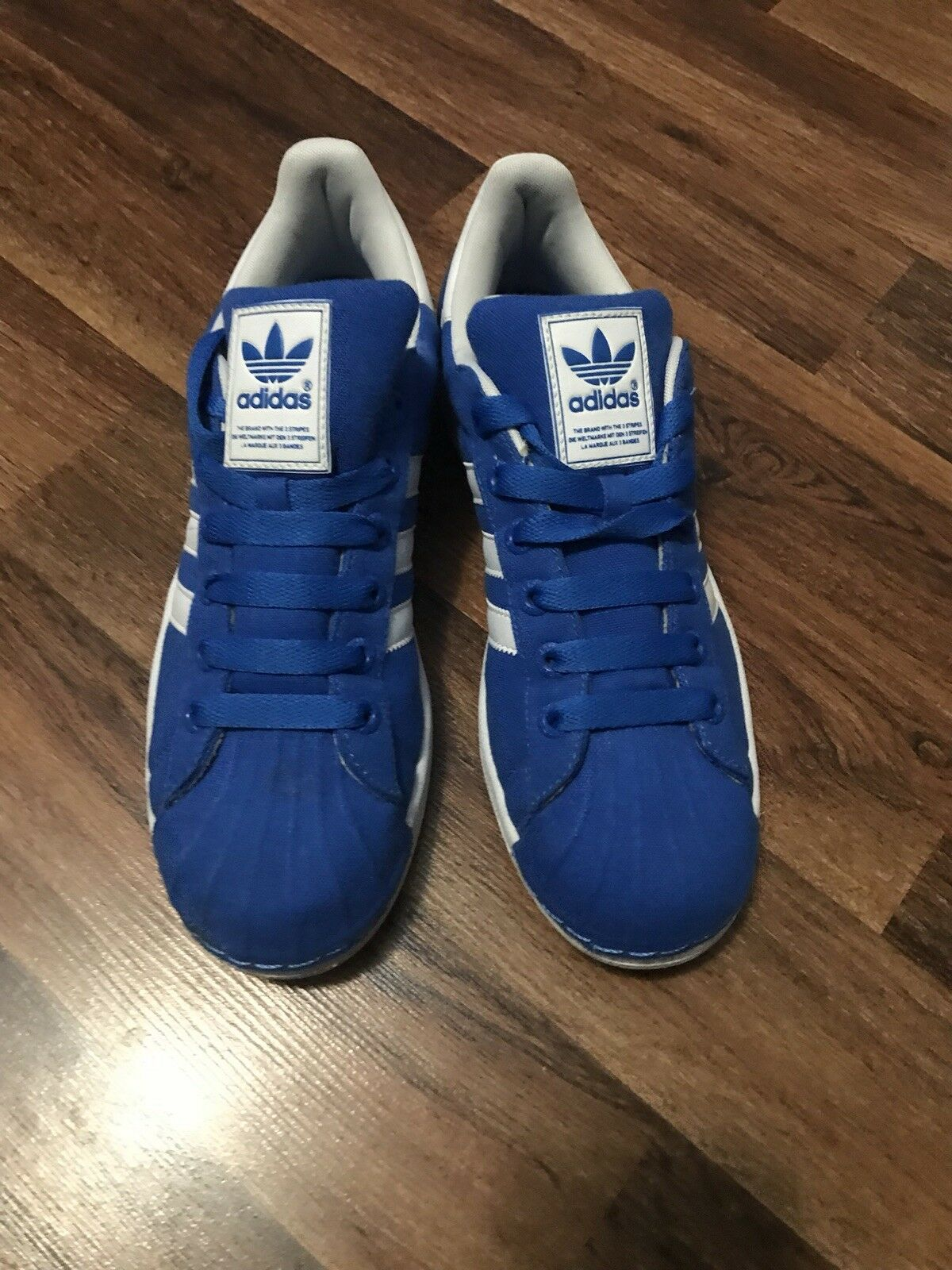 Adidas schuhe herren 3 größe 9 / 3 herren blaue turnschuhe. 36b9be