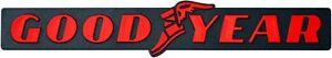 Auto-3D-Emblem-Aufkleber-Relief-GOODYEAR-Schild-gefraest-20-cm-HR-Art-14378