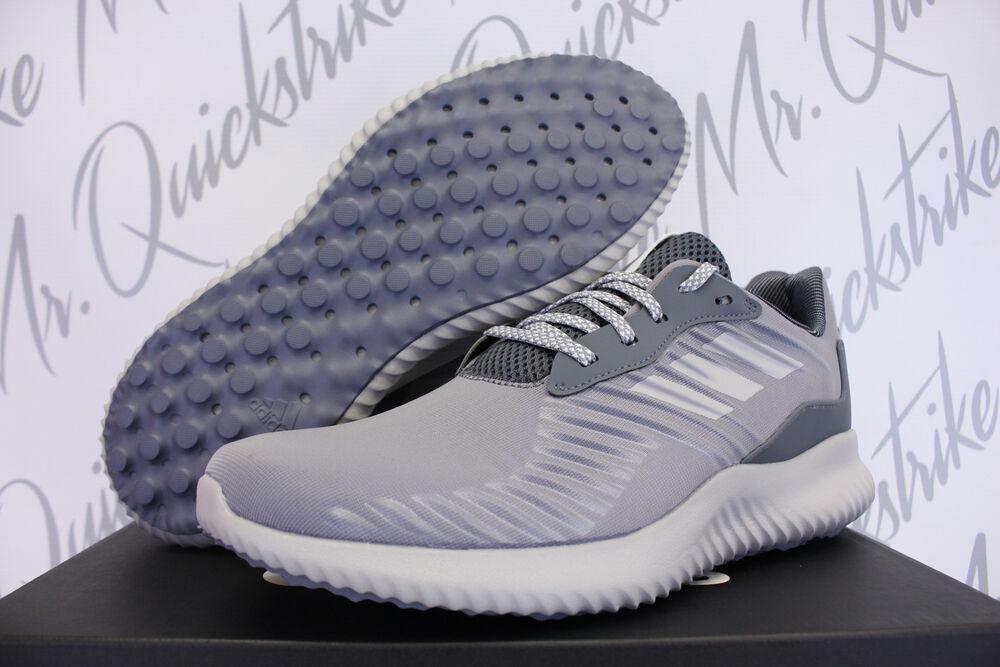 ADIDAS ALPHABOUNCE RC SZ 10 fonctionnement chaussures HEATHER Gris noir blanc BW0693