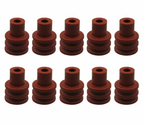 10x junta Seal tules para conectores clavija VW 357 972 741 a 357972741a