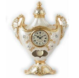 Orologio da tavolo via veneto ceramica oro oggetti for Visma arredo 1 s r l