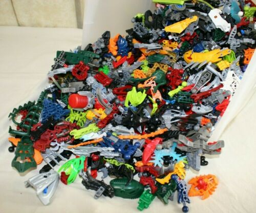 Assorted Lots Hero Factory 4 lbs LEGO Bionicle Lots of Mixed Pieces