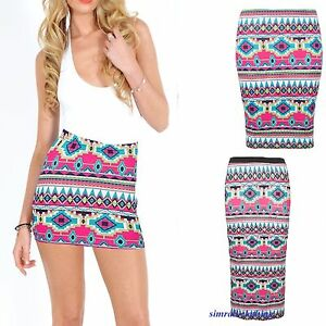 3556b6be1aae4f NEW LADIES WOMENS JERSEY MAXI SKIRT GYPSY BODYCON SUMMER DRESS SIZE ...