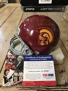 OJ Simpson Autographed/Signed Mini Helmet PSA/DNA COA USC Trojans Heisman O.J. B