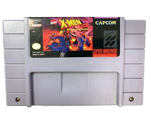 X-MEN-MUTANT-APOCALYPSE-Super-Nintendo-SNES-Game-Tested-Working-Authentic