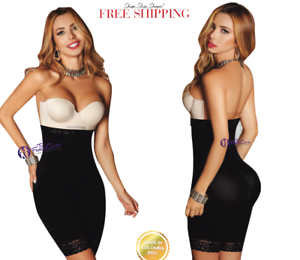 The High Waist Short Fajas Strapless Colombianas Post Surgery Strong BODY SHAPER