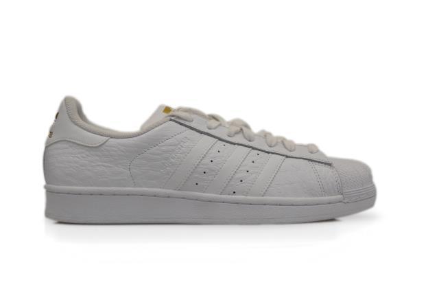Uomo Adidas Superstar - AQ6686 - White trainers