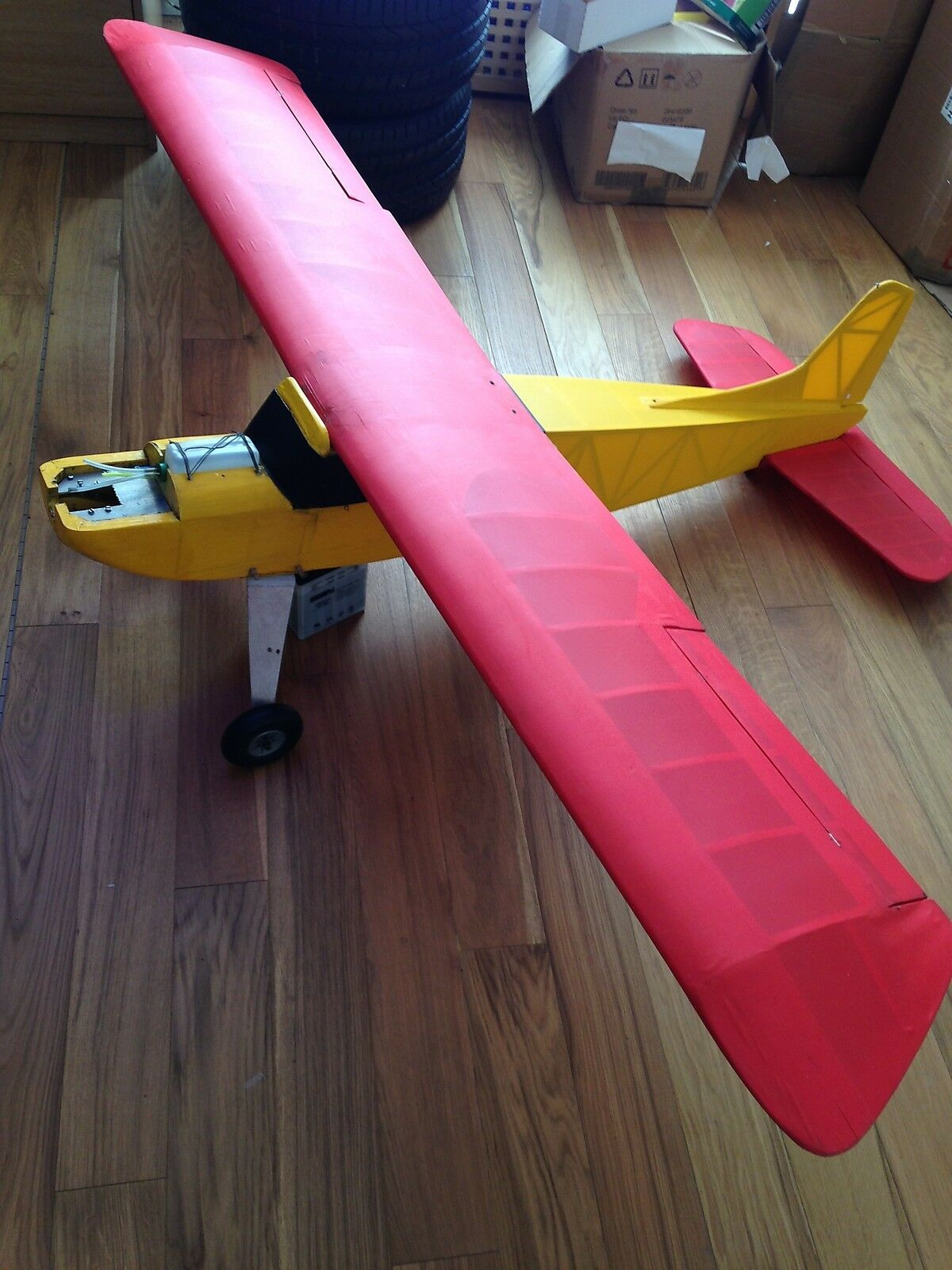 Radio Controlled Aeroplane Aircraft Super 90 4 Channel 84  Span Used
