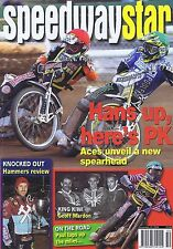 ACES / HAMMERS / GEOFF MADON / LEIGH ADAMS Speedway Star Dec 12 2009