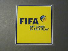 Patch Badge FIFA My Game is Fair Play WM Weltmeisterschaft 2018 Trikot Ärmellogo
