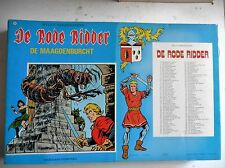 De rode ridder nr 102  EERSTE Druk ongekleurd  1983