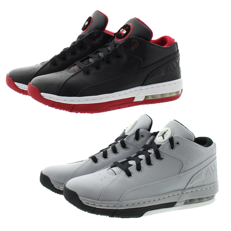 Nike air jordan della scuola 317765 uomini scarpe da basket basso alto scarpe nero 006, bianco 014