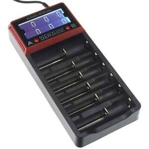 ARRMA-AR390262-18650-Li-Ion-6-Bay-Battery-Charger-Voltage-Fazon-Granite