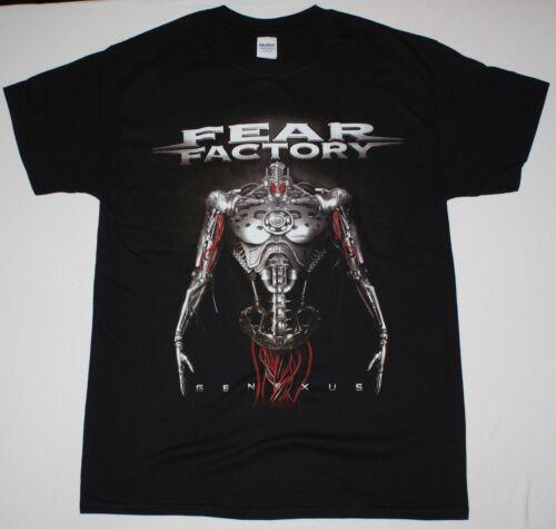 Fear Factory Genexus Noir T Shirt industriel metal alternative Sybreed Dagoba