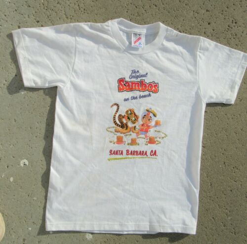 TRUE VINTAGE SAMBO'S T-SHIRT NEW OLD STOCK NEVER W