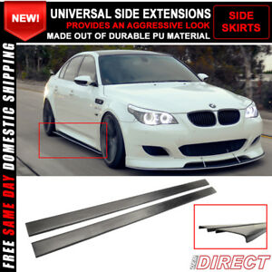 For-Universal-Side-Skirt-Extensions-Rocker-Panel-Splitters-PU