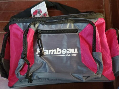 Flambeau Graphite 400 Pink Tackle Bag
