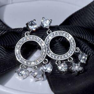 18k-white-gold-made-with-Swarovski-crystal-stud-dangle-star-heart-925-earrings
