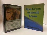 MTG Standard & Theme Decks - Blue Green Assault Team Magic the Gathering