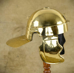 18GA Medieval Roman Imperial soldier helmet Roman Gallic//Centurian Helmet AJ197