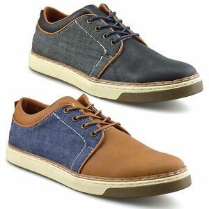 Homme-Nouveau-Casual-Smart-bateau-pont-Mocassin-Walking-Driving-Work-Lace-Up-Chaussures-Taille