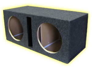 """R//T 15/"""" Subwoofer Single Labyrinth Slot Vent Box Enclosure MADE IN THE USA"""