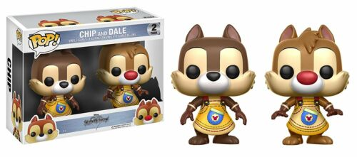 Chip And Dale Chap Kingdom Hearts POP! Disney 2-Pack Set Vinyl Figur Funko