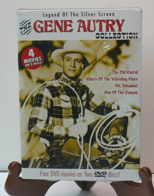 NEW GENE AUTRY COLLECTION > LEGEND OF THE SILVER SCREEN > 4 MOVIES > 2 DISC