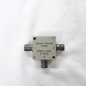 Details about Mini-Circuits_ZFRSC-2050: 15542 ZFRSC-2050 Power Splitter