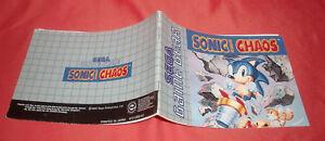 Notice-Game-Gear-Sonic-the-Hedgehog-Chaos-SANS-JEU-PAL-Sega-JRF