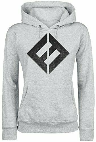 Foo Fighters Concrete and Gold Girls Hooded Sweatshirt Grey M