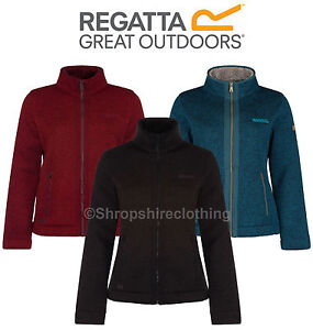 Regatta Womens/Ladies Ranita Thick High Pile Full Zip Fleece ...