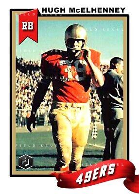 ACEO MATT HAZELTINE SAN FRANCISCO 49ERS CUSTOM HAND MADE ART CARD