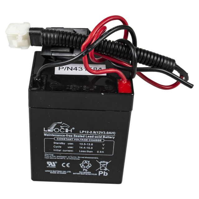 Craftsman 436551 Lawn Mower Battery 12 Volt For Craftsman For Sale Online Ebay